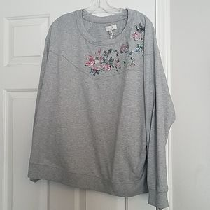 Lucky Brand sweatshirt. 2X.